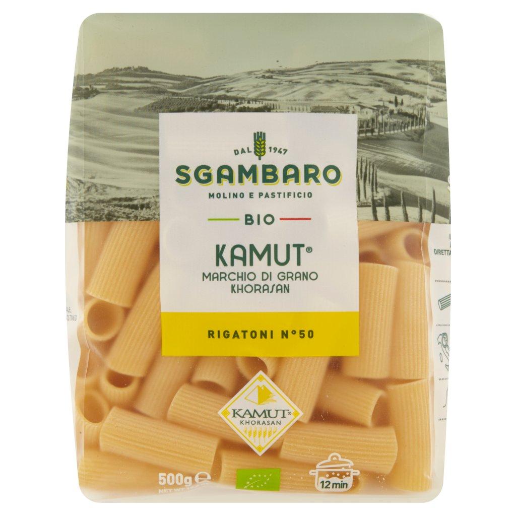 Sgambaro Bio Kamut Rigatoni N° 50