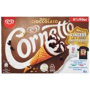 Cornetto Algida Panna e Cioccolato 8 x 60 g