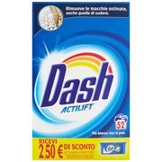 Dash Detersivo in Polvere Lavatrice 52 Misurini