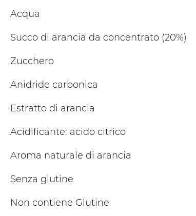 Sanpellegrino Bibite Gassate, Aranciata,