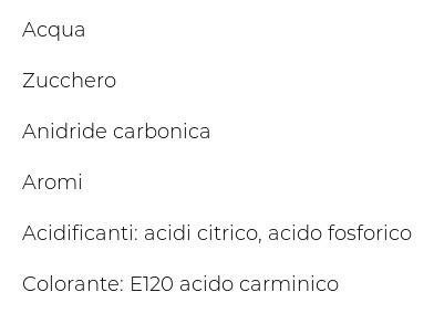 Sanpellegrino Bibite Gassate, Cocktail, 125cl