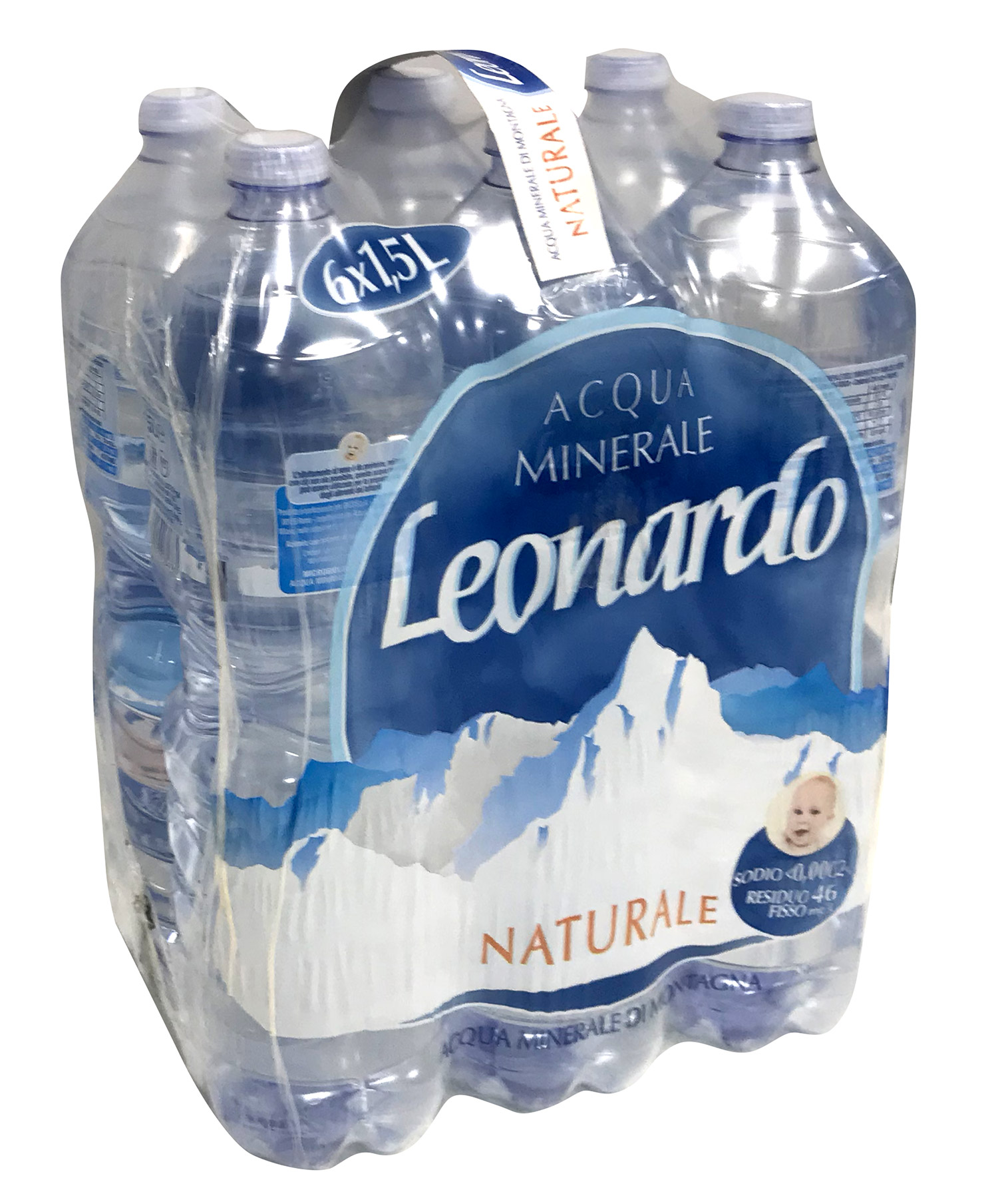 Acqua Naturale Leonardo