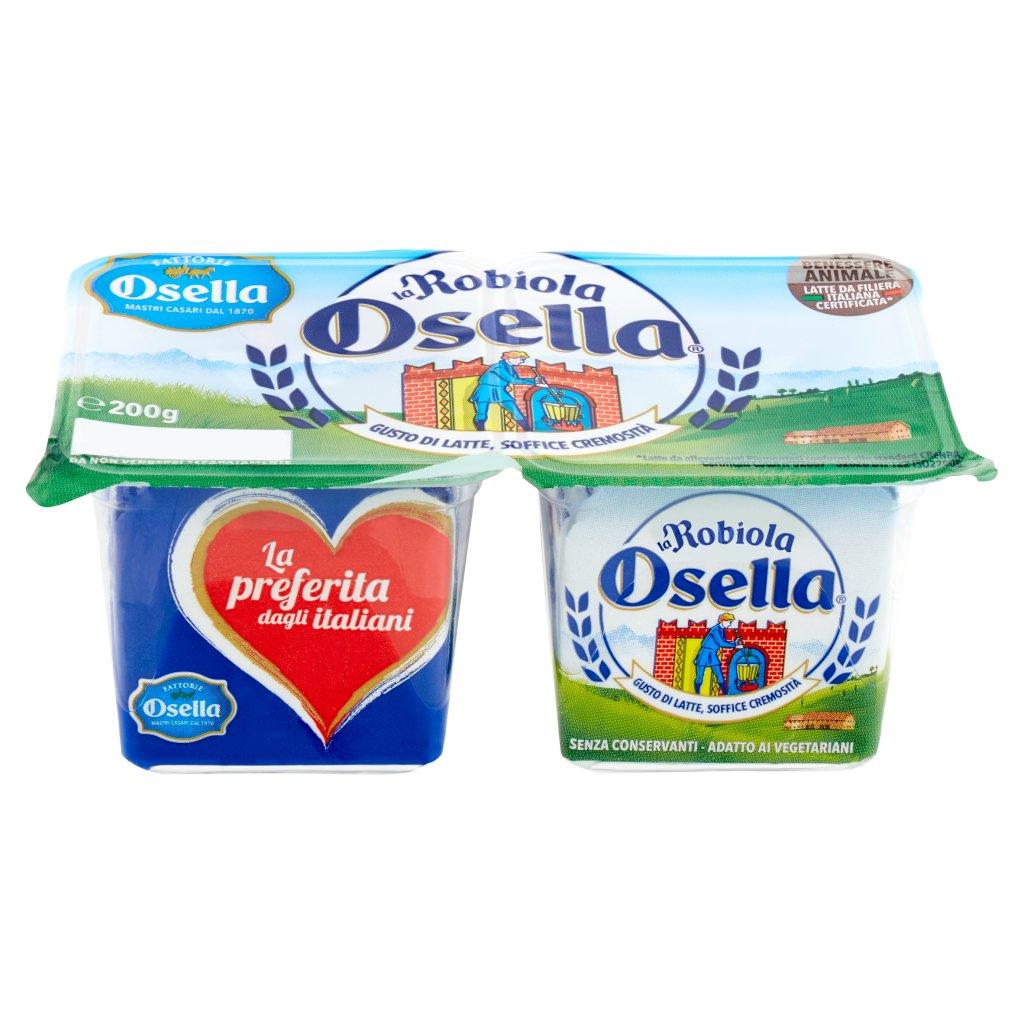 Fattorie Osella La Robiola Osella 2 x 100 g Vaschetta 200 G