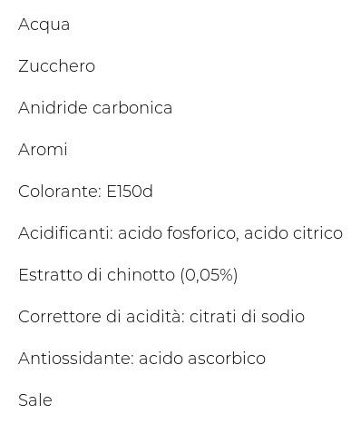 Sanpellegrino Bibite Gassate, Chino', 125cl