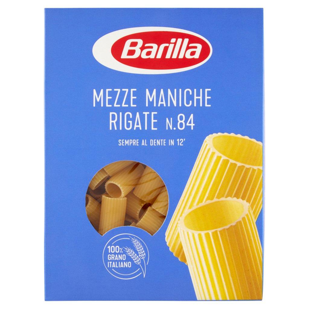 Barilla Mezze Maniche Rigate N.84 Confezione 500 G 1