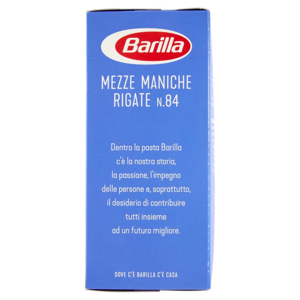 Barilla Mezze Maniche Rigate N.84 Confezione 500 G 4