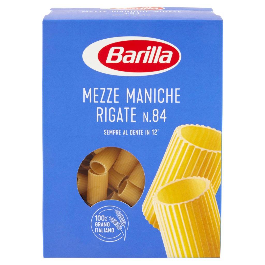 Barilla Mezze Maniche Rigate N.84 Confezione 500 G