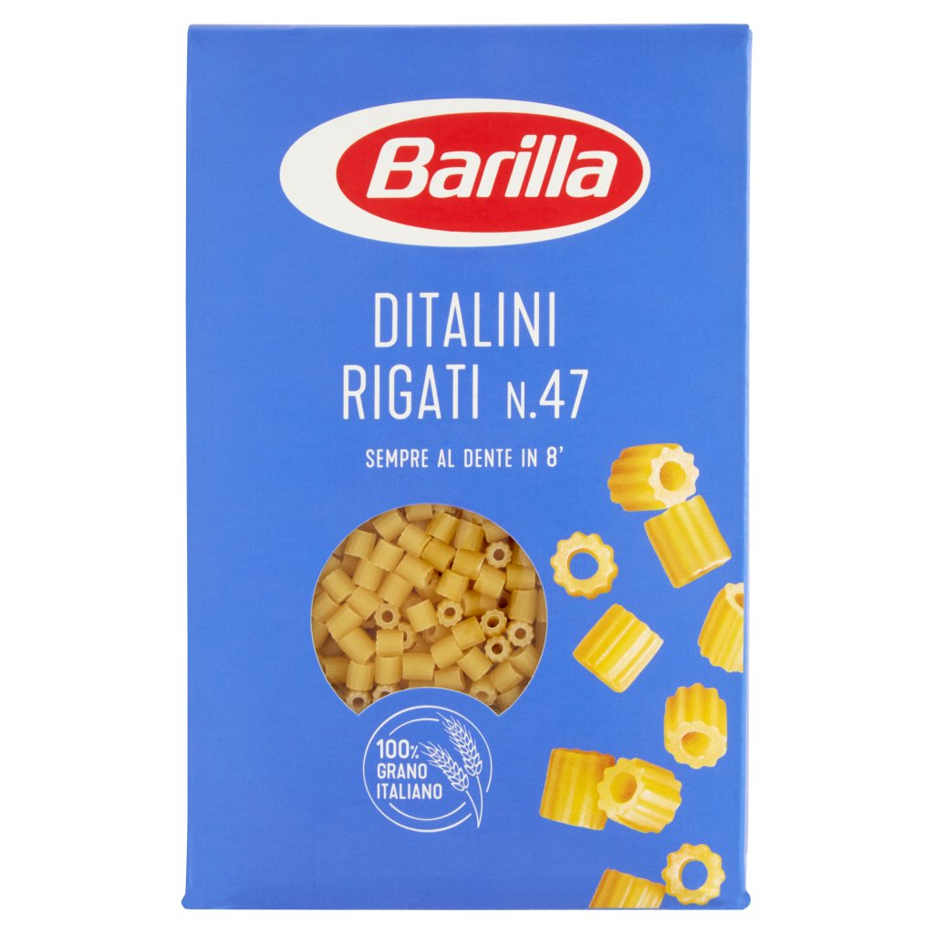 Barilla Ditalini Rigati N.47