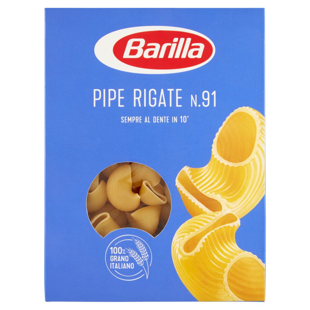 Barilla Pipe Rigate N.91