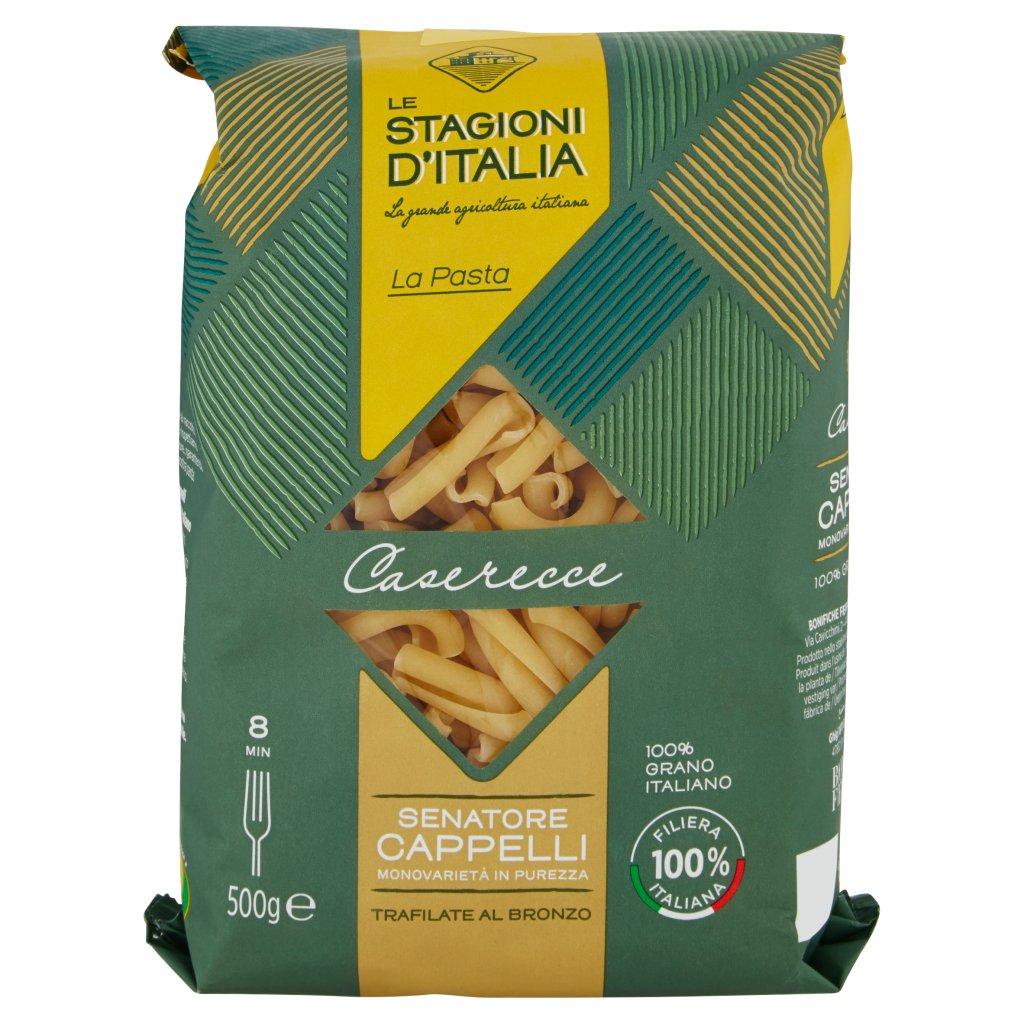 Le Stagioni d'Italia La Pasta Caserecce N°57 Senatore Cappelli Confezione 500 G
