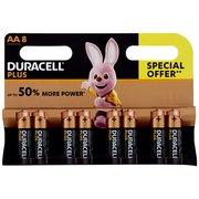 Duracell Plus Aa Batterie Stilo Alcaline Confezione da  1.5v Lr06 Mx1500