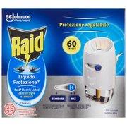 Raid Liquido Protezione⁺ Zanzare Tigre e Comuni Diffusore + 1 Ricarica