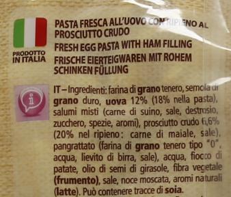 Tort.prosciutto G500 Ca'Bianca