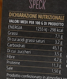 Ciuf Speck G250 Prim.In.Pasta