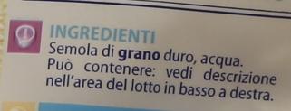 Trofie Gr.500        Ca'Bianca