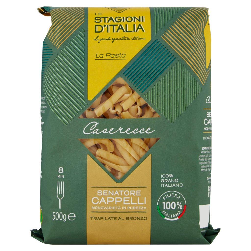 Le Stagioni d'Italia La Pasta Caserecce N°57 Senatore Cappelli Confezione 500 G 1