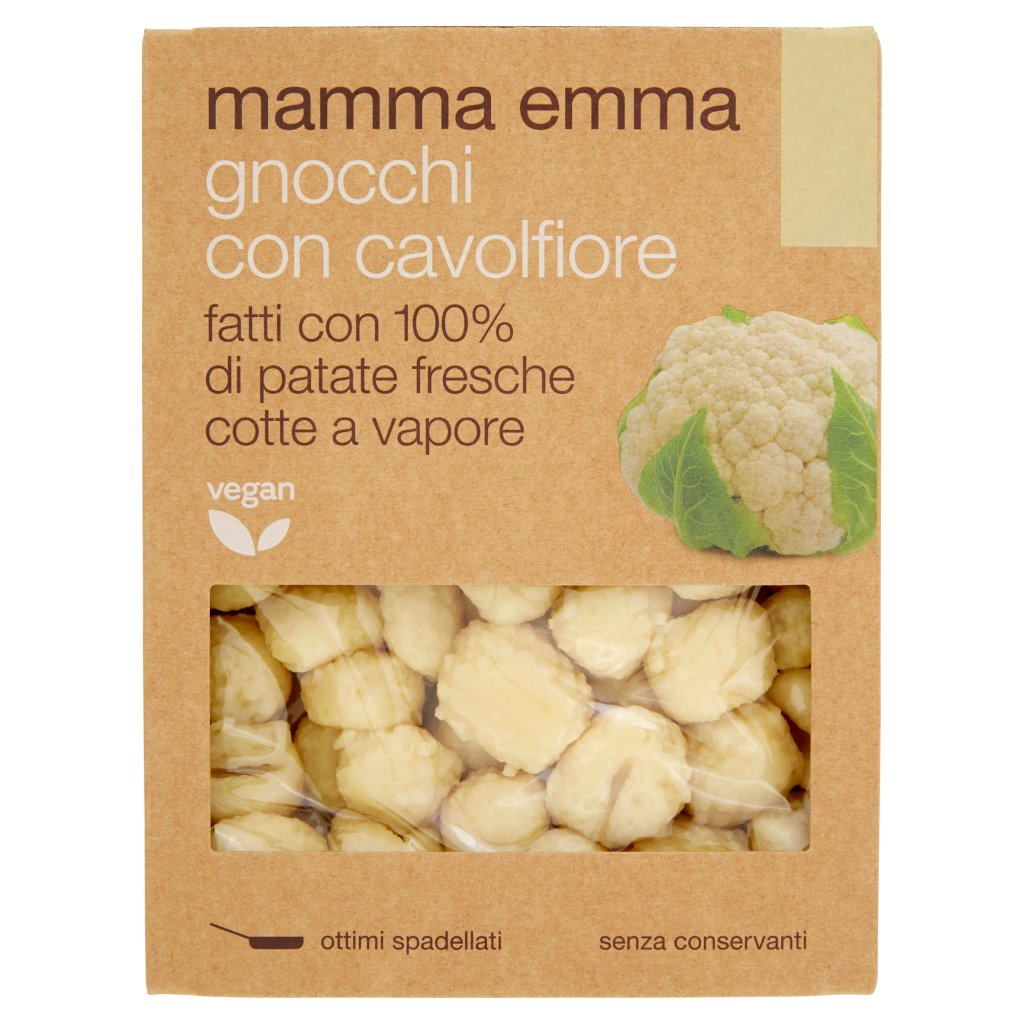 Mamma Emma Gnocchi con Cavolfiore