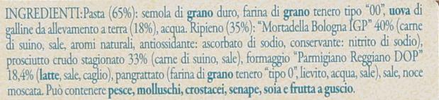 Tortellini Bolog. Gr 250 L.I.