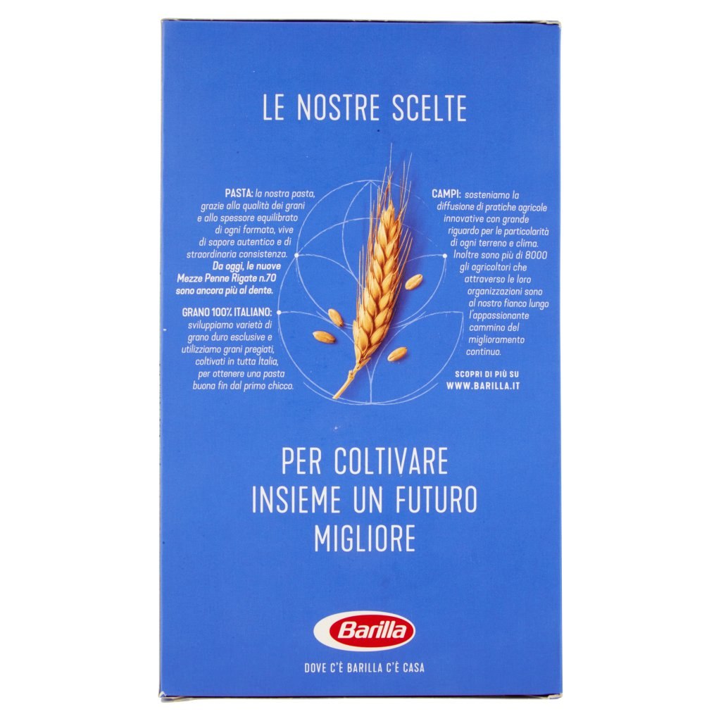 Barilla Mezze Penne Rigate N°70 Confezione 500 G 2
