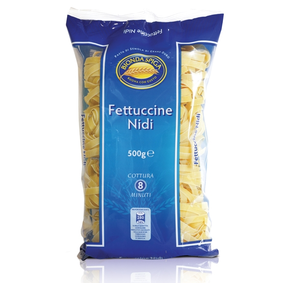 Pasta di Semola Nido Fettuccine Bionda Spiga 500 g