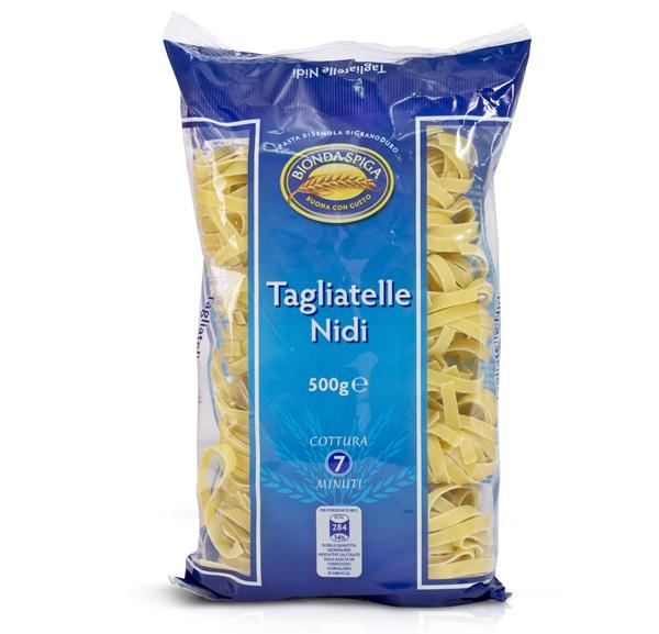 Pasta di Semola Nido Tagliatelle Bionda Spiga 500g
