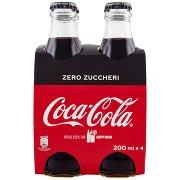 Coca Cola 200ml x 4 (Vetro)