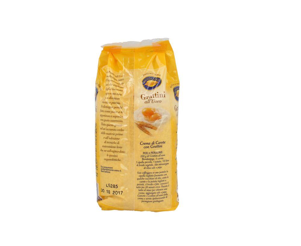 Pasta Secca Uovo Grattini Bionda Spiga 500 g