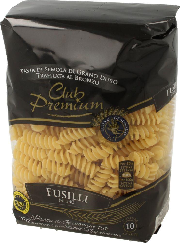 Pasta di Semola Fusilli Club Premium 500 g
