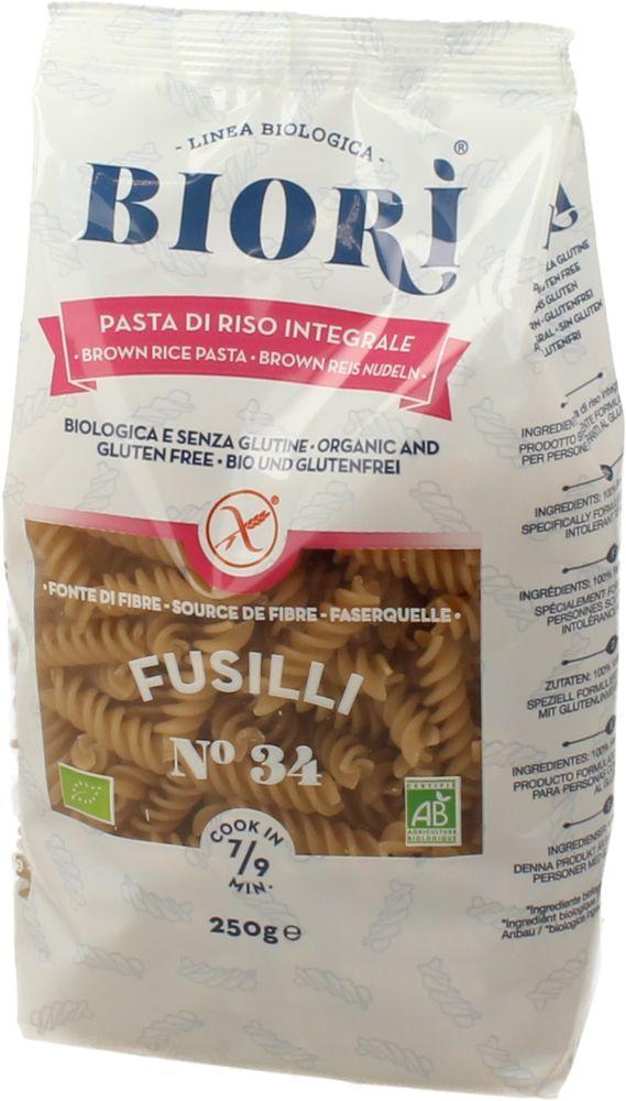 Pasta di Riso Integrale Dietetica Fusilli 250 g