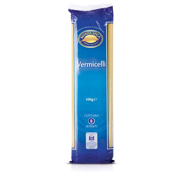 Pasta di Semola Vermicelli N.4 Bionda Spiga 500 g