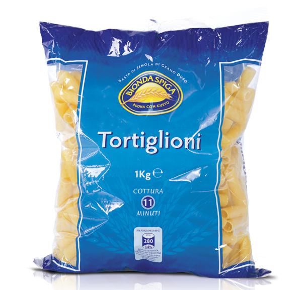 Pasta di Semola Tortiglioni N.83 Bionda Spiga 1 Kg