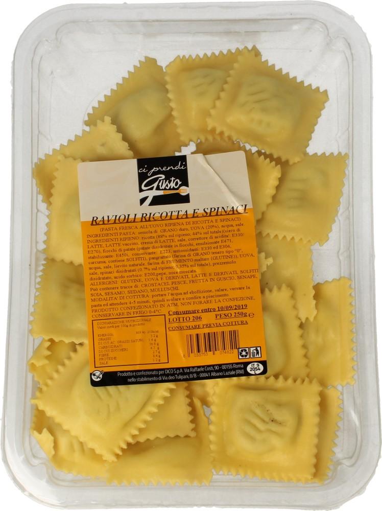 Pasta Fr.Ravioli Ric/spinaci Ci Prendi Gusto 250 g