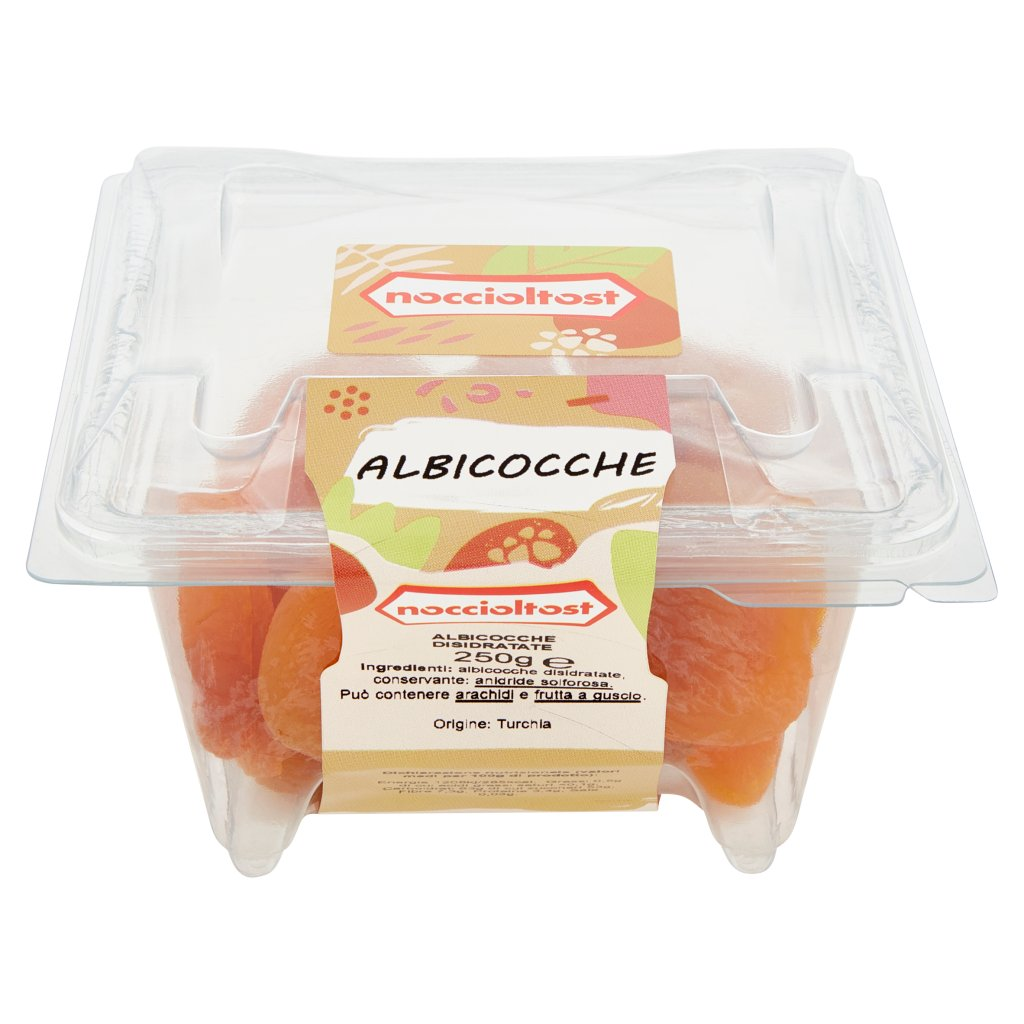 Noccioltost Albicocche