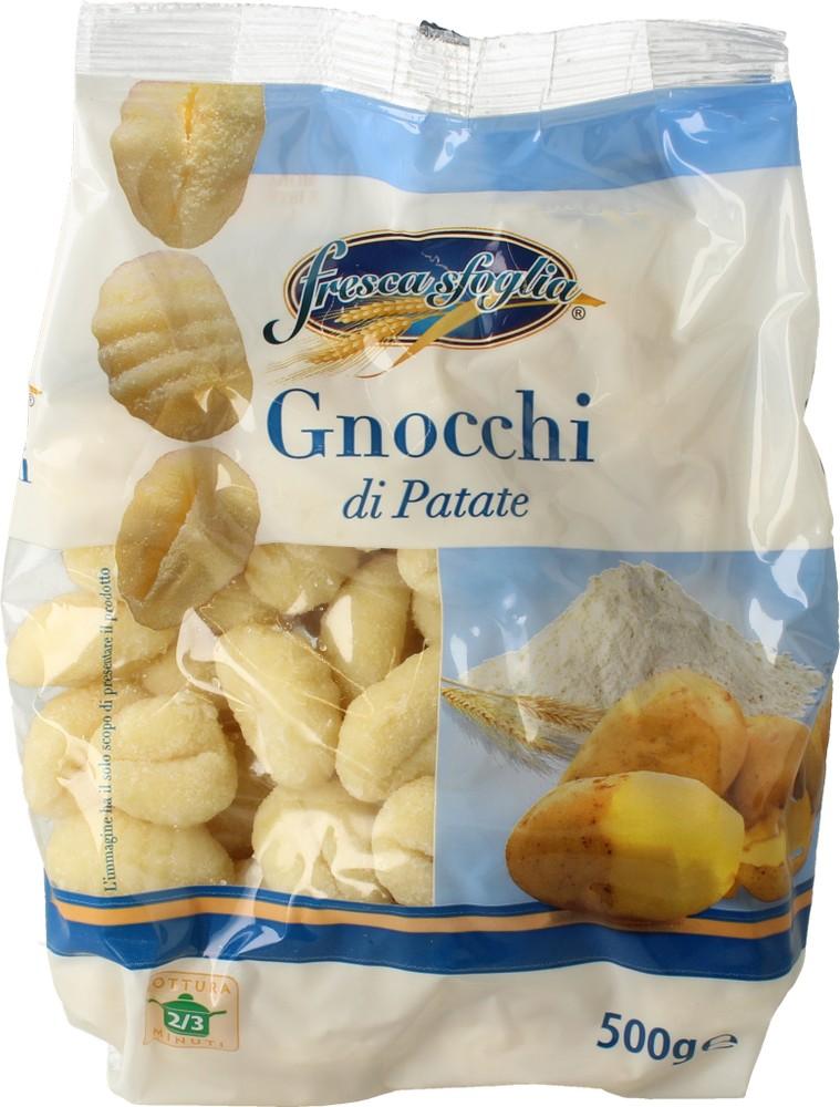 Gnocchi Freschi con Patate Frescasfoglia 500 g