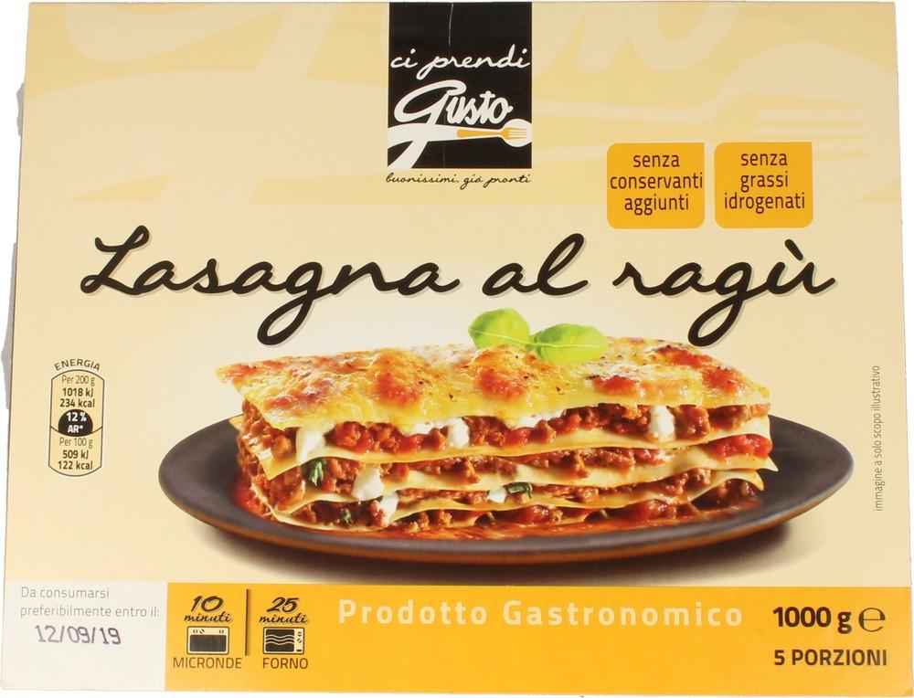 Arte Gastronomica Lasagne al Ragu