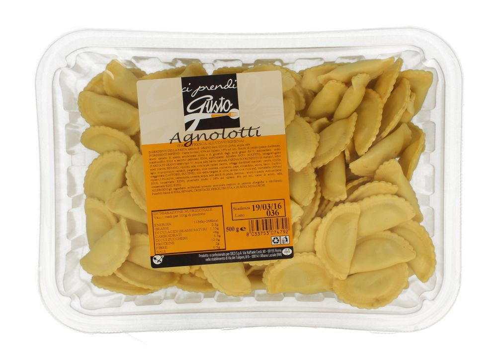 Pasta Fr Agnolotti Carne Ci Prendi Gusto 500 g