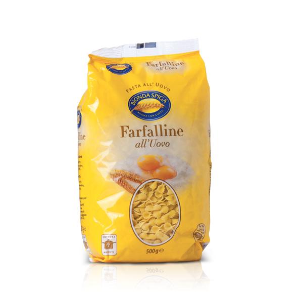 Pasta Secca Uovo Farfalline Bionda Spiga 500 g