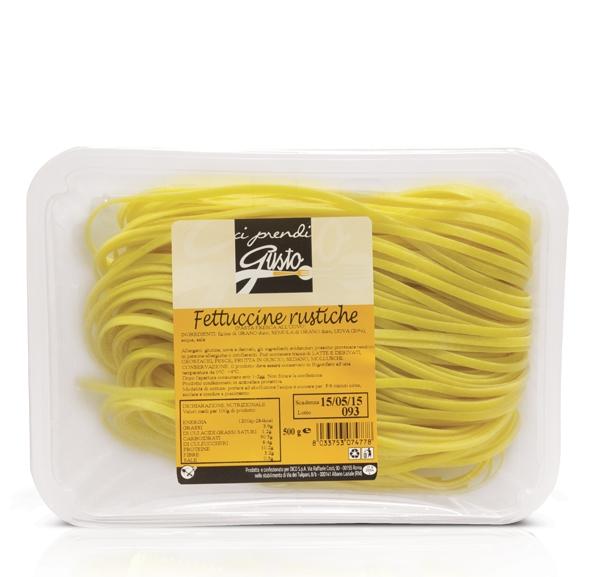 Pasta Fr Uovo Fettucc.Rustiche Ci Prendi Gusto500g