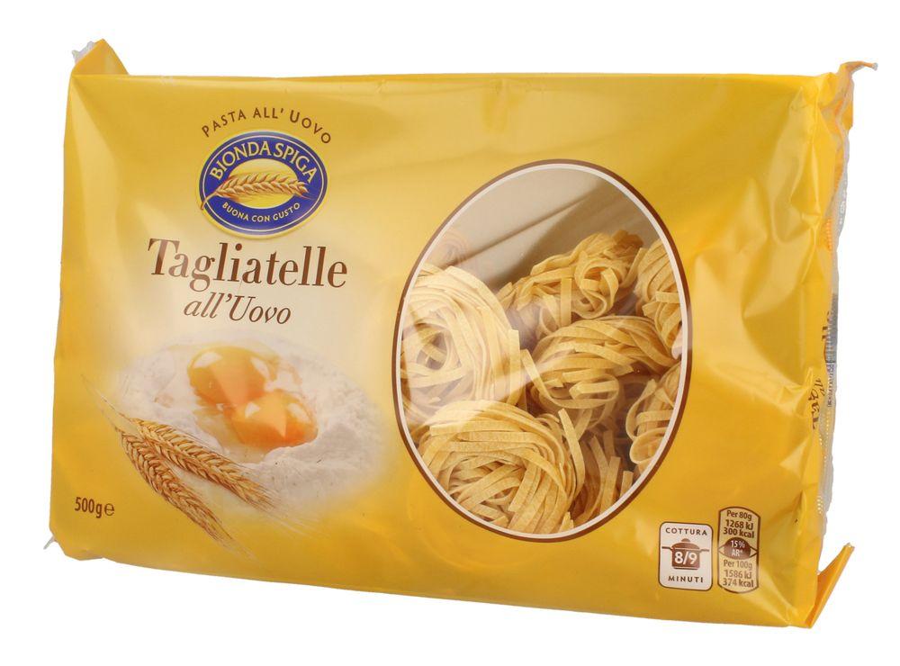 Pasta Secca Uovo Tagliatelle N.8 Bionda Spiga 500g