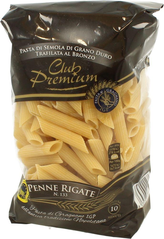 Pasta di Semola Penne Rigate Club Premium 500 g