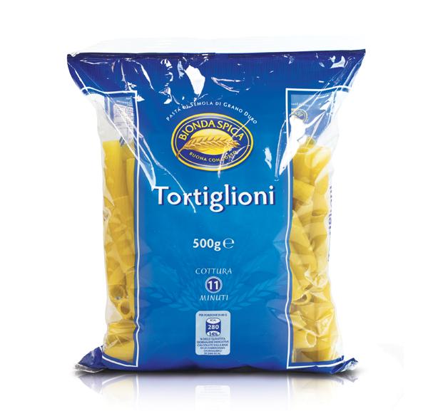 Pasta di Semola Tortiglioni N.32 Bionda Spiga 500g