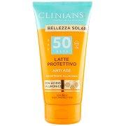 Clinians Bellezza Solare Latte Protettivo Anti Age Spf 50 Alta Uva + Uvb