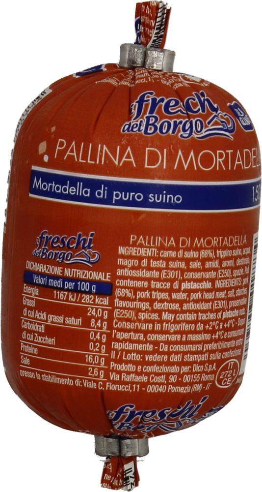 Mortadella Pallina Freschi del Borgo 150 g
