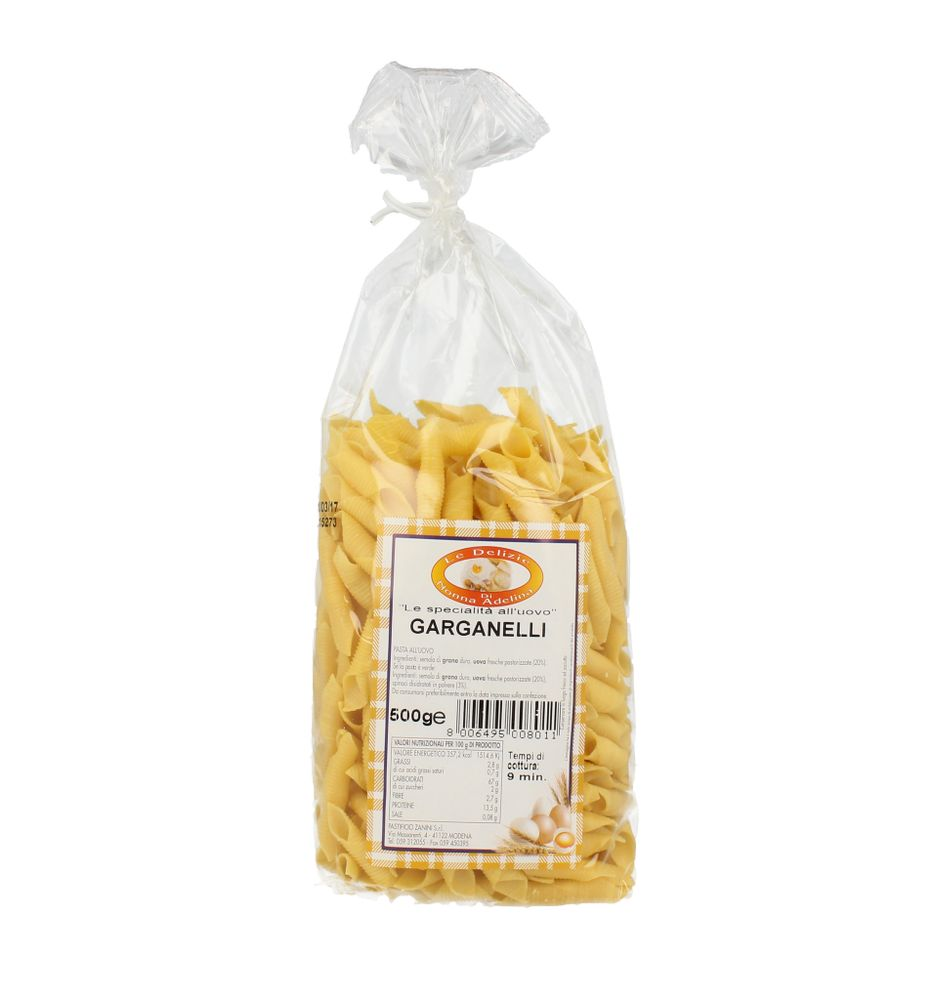 Pasta Secca Uovo Garganelli D. Nonna Adelina 500 g