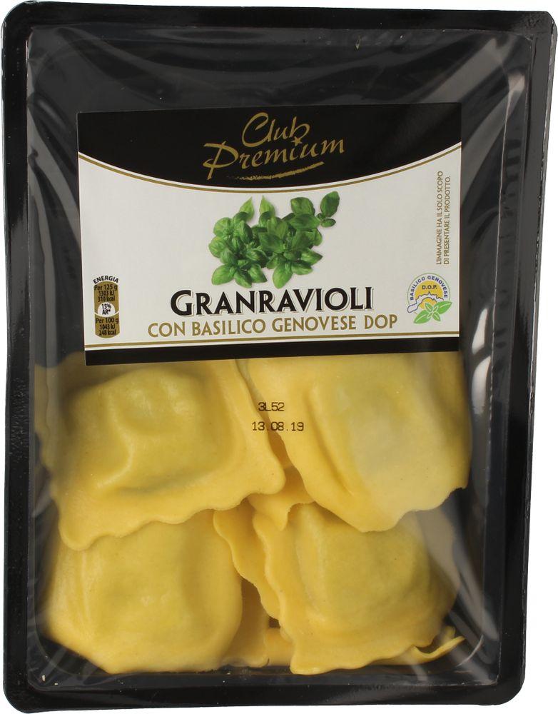 Pasta Fr.Granravioli Basilico Club Premium 250 g