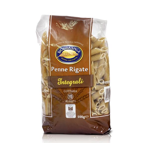 Pasta di Semola Int. Penne Rig. Bionda Spiga 500 g