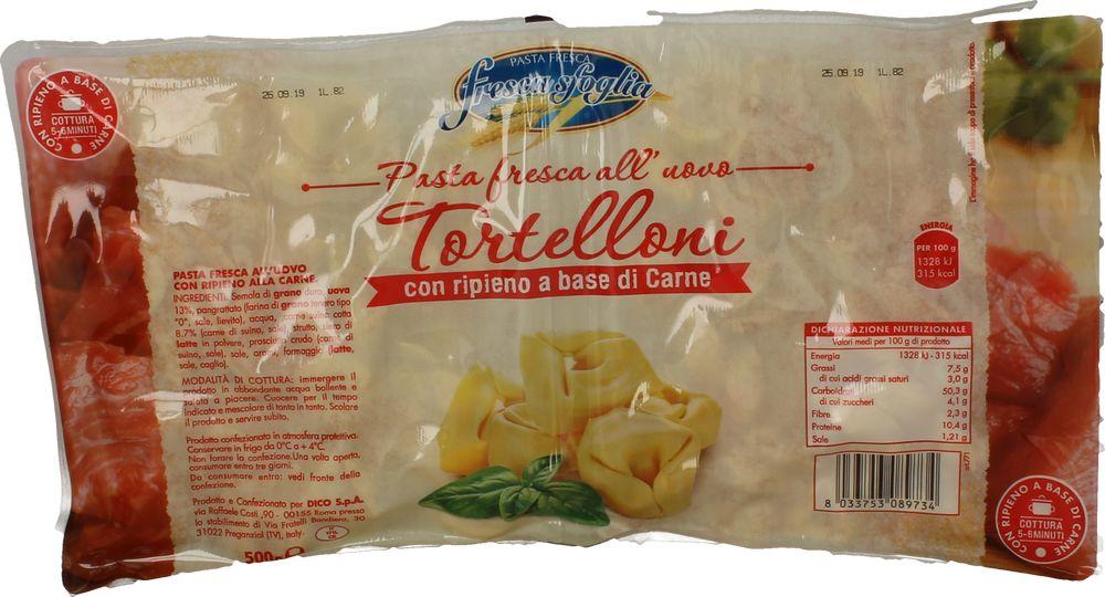 Pasta Fr.Tortelloni Carne Fresca Sfoglia 250 g x 2