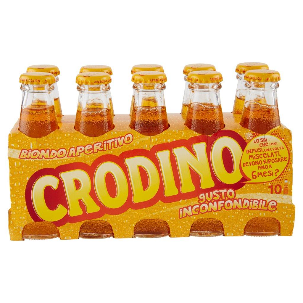 Crodino Crodino Confezione 10X10Cl