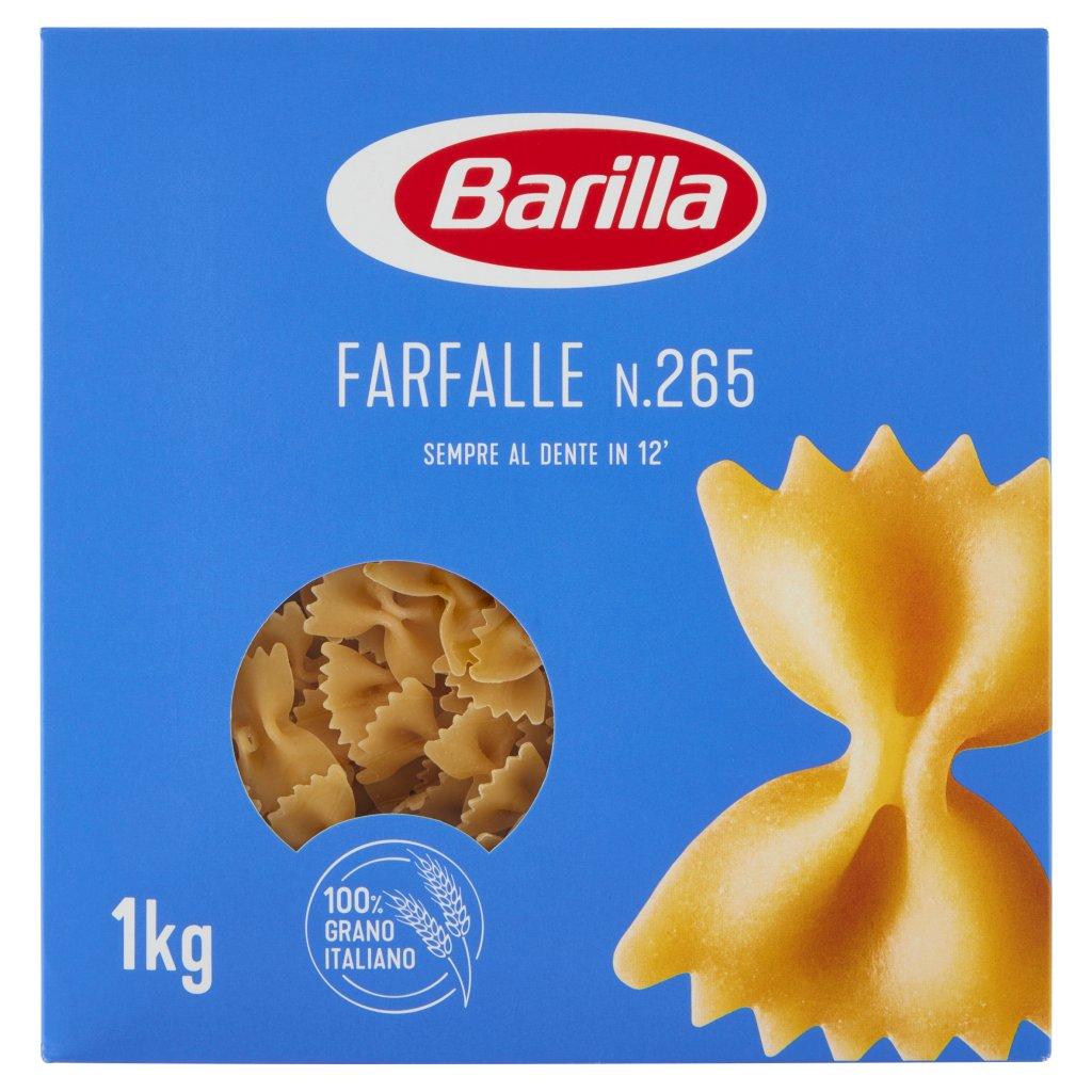 Barilla Farfalle N.265 1kg Confezione 1000 G 1
