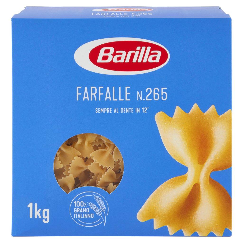 Barilla Farfalle N.265 1kg Confezione 1000 G